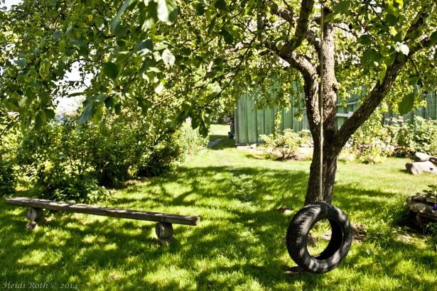 omenapuunvarjossa