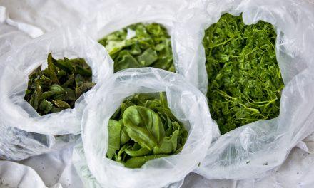 Rakastan, pakastan yrttejä – hyötypuutarhan aineksia pakastimesta