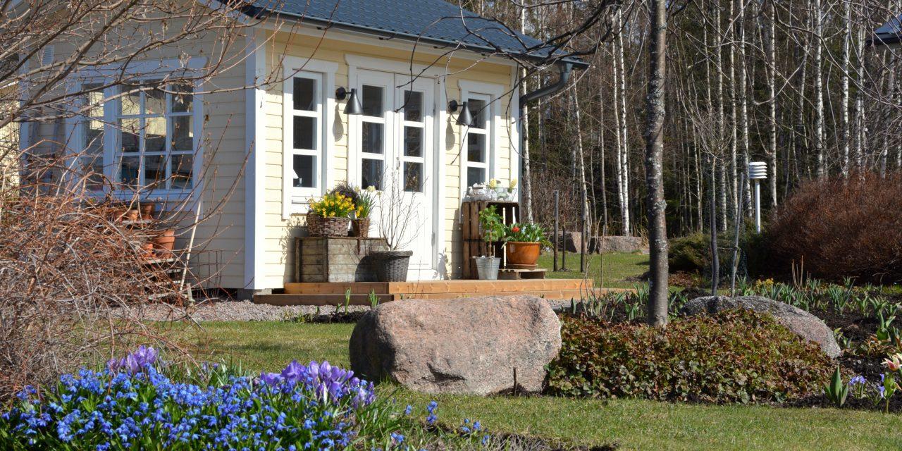 Portti puutarhaan
